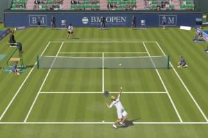 Un juego de tenis para PC