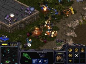 Juegos de estrategia para PC: captura de Starcraft