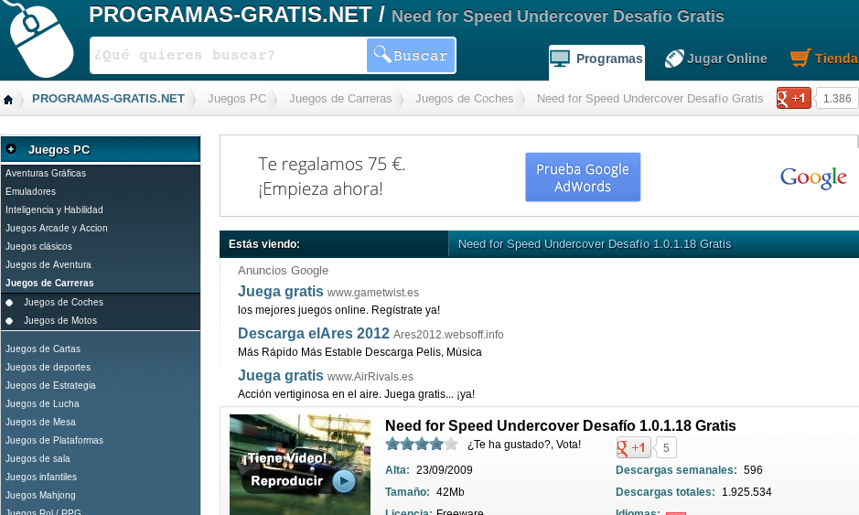 Juegos Gratis Para Pc Blog De Programas Gratis Net
