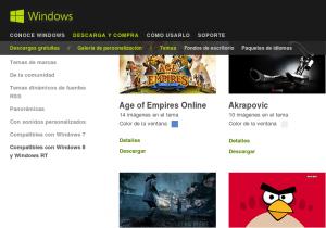 temas para Windows