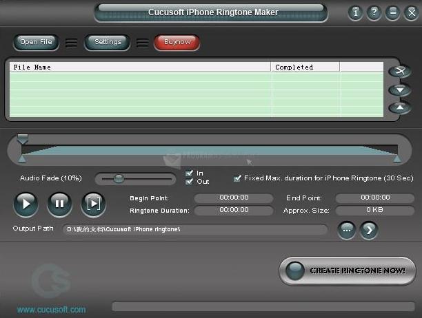Programa para crear tonos de llamada para iPhone