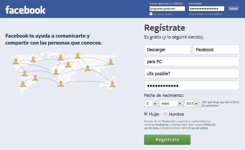 Descargar Facebook Para Pc Blog De Programas Gratis Net