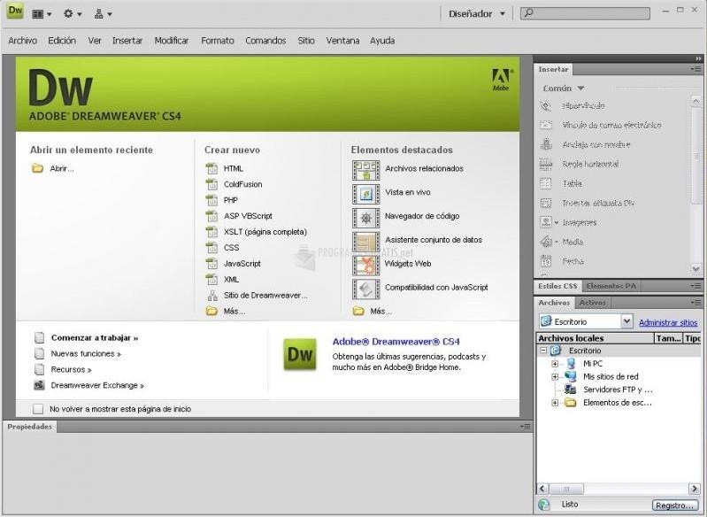 Programas para crear p ginas web for Paginas para hacer planos gratis