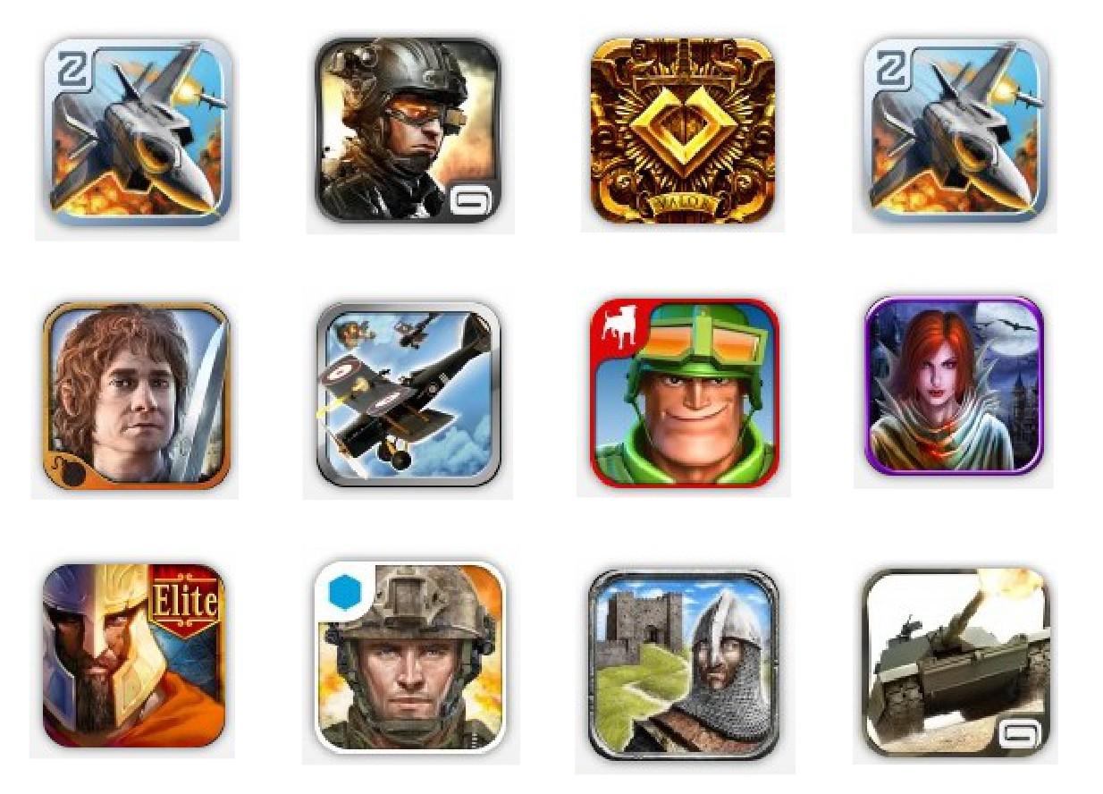 Juegos de guerra para iPhone