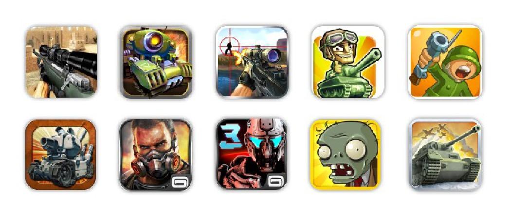 Juegos de guerra para Android
