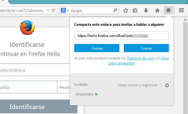 Thumbail de Firefox Hello, videollamadas sin necesidad de complementos