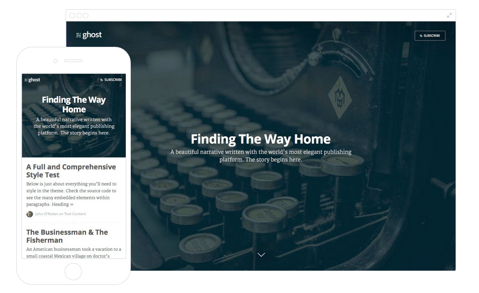 Thumbail de Así es Ghost, la plataforma más simple para tu blog