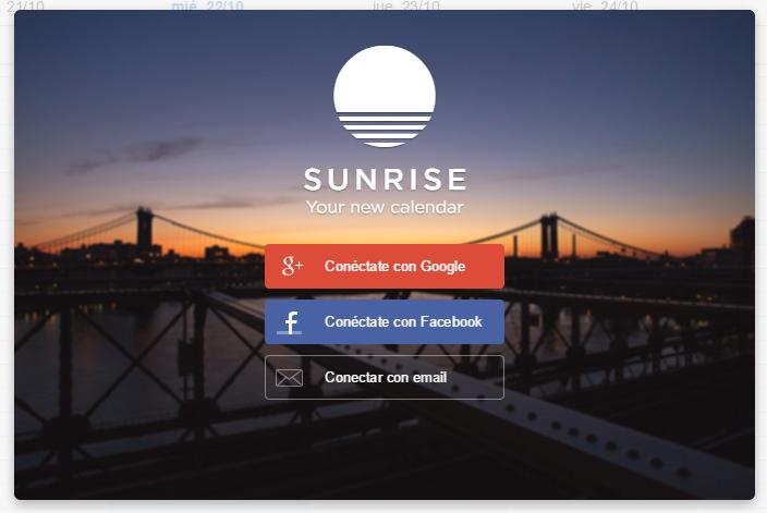 Thumbail de Sunrise, el mejor calendario para tu ordenador y tu móvil