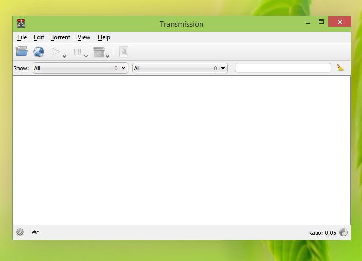 Transmission Qt en Windows