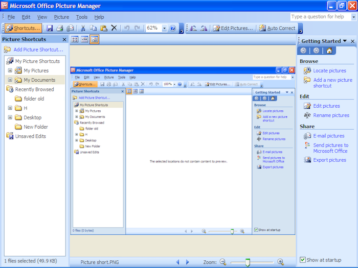 ¿Alguna vez usaste Microsoft Picture Manager?