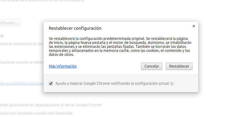 Limpiar Chrome